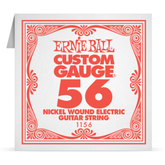 ERNIEBALL EB1156 .056 Nickel Wound Electric Einzelsaite