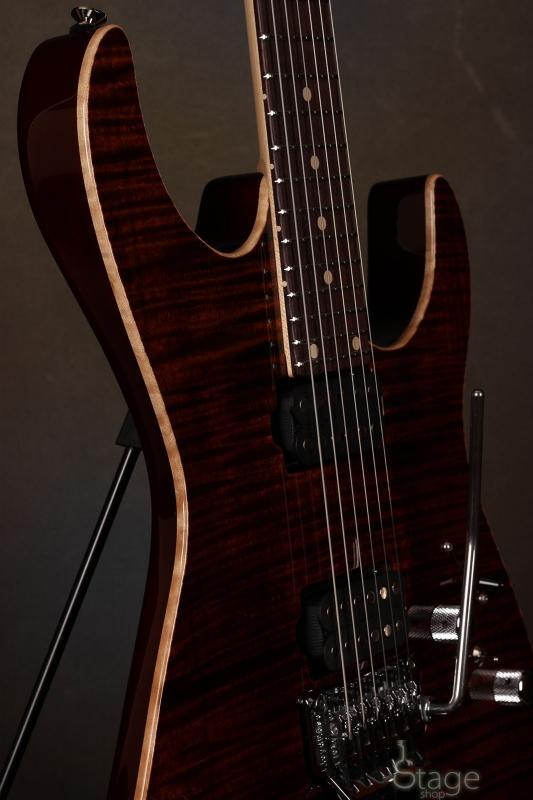 Tom Anderson Angel electric guitar 24 frets Floyd Rose