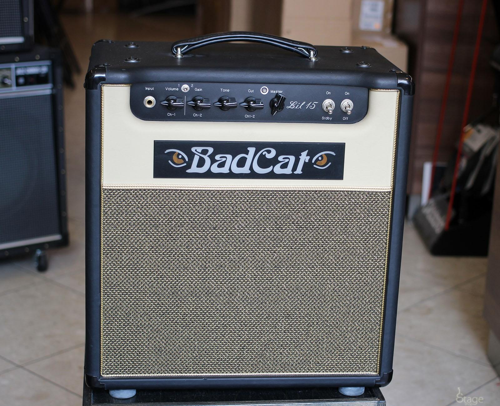 Bad Cat Lil 15 1x12 used guitar tube combo amp