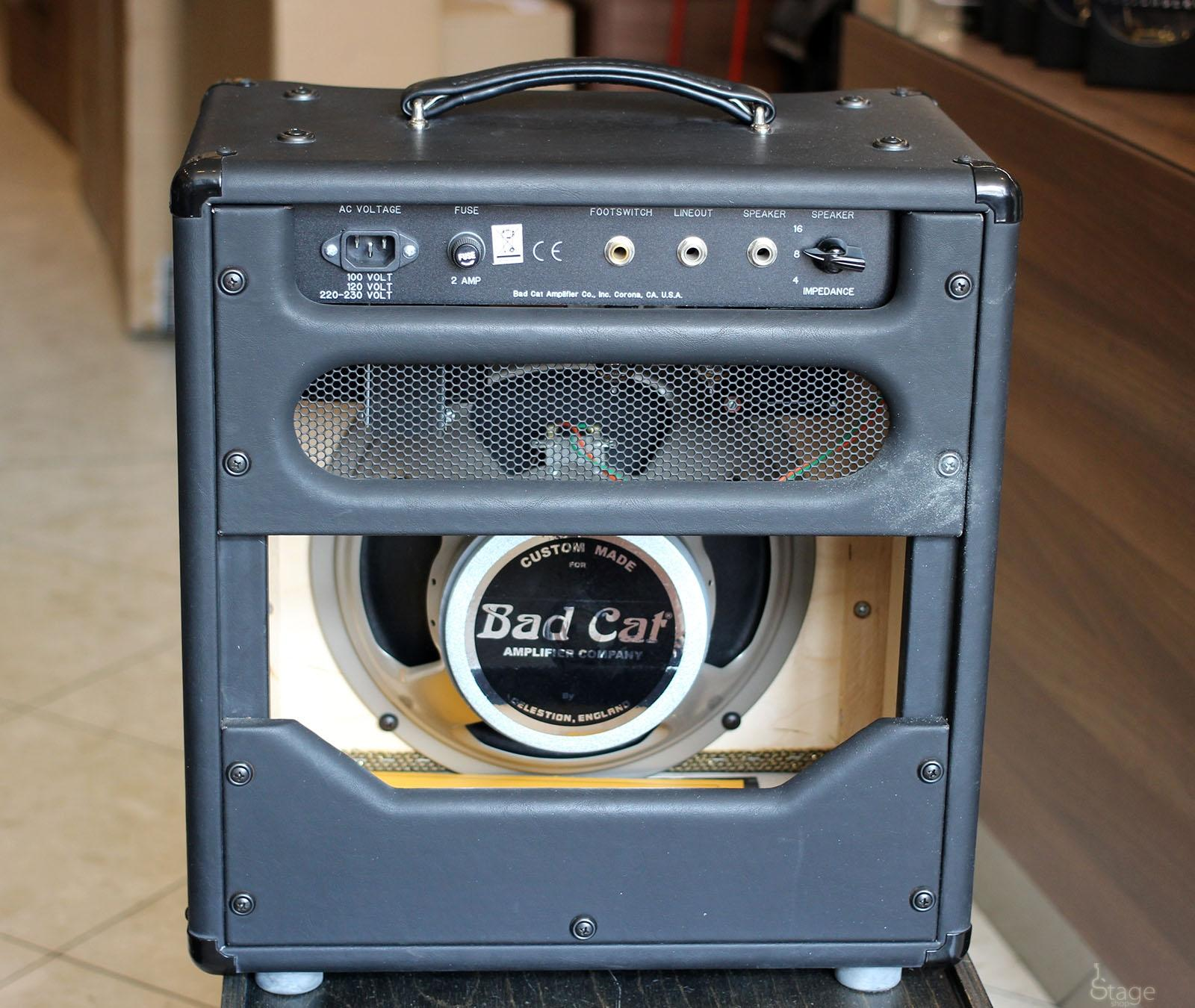 Bad Cat Lil 15 1x12 used guitar tube combo amp | Stageshop