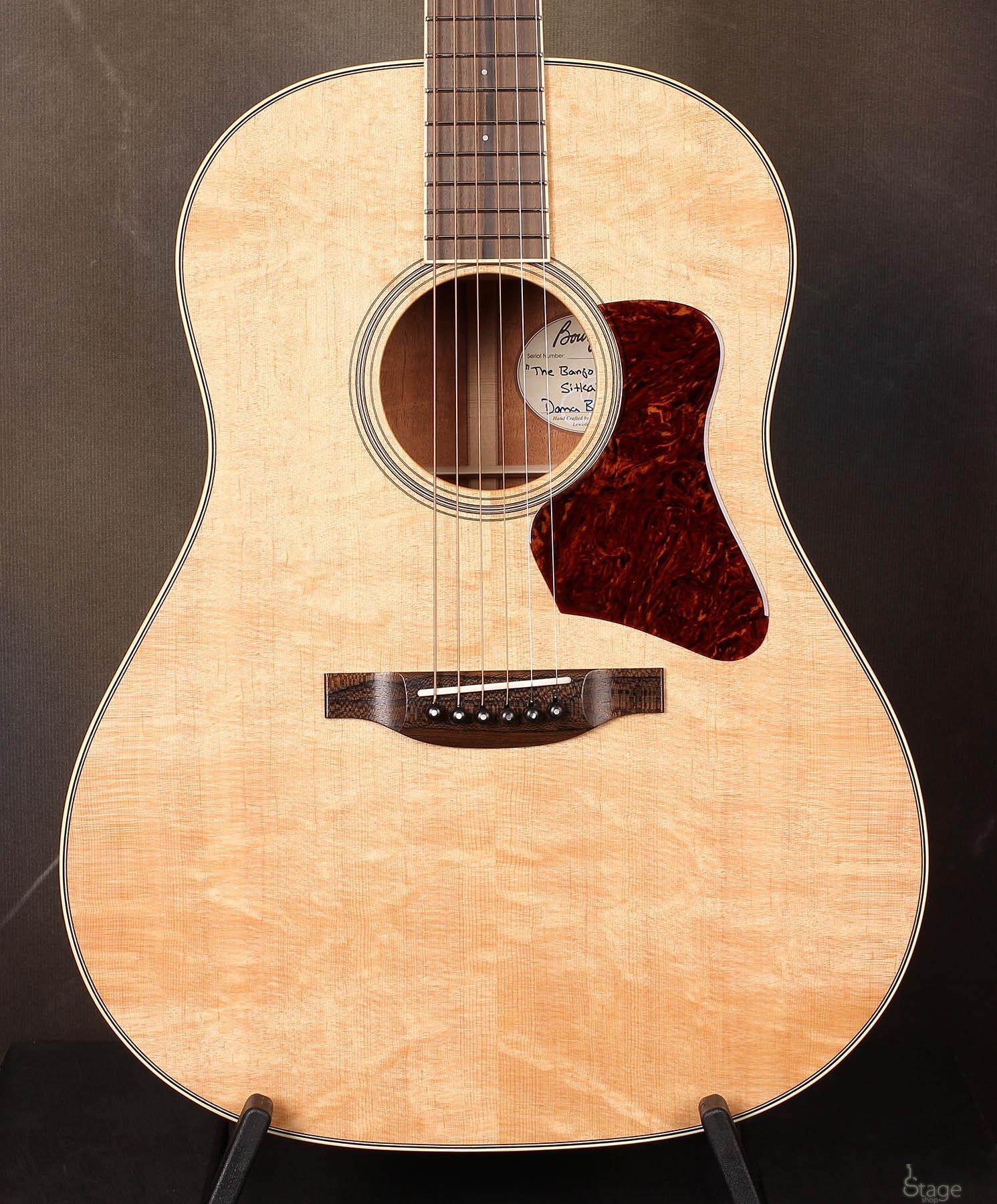 Bourgeois Banjo Killer Slope D Bearclaw Sitka guitar