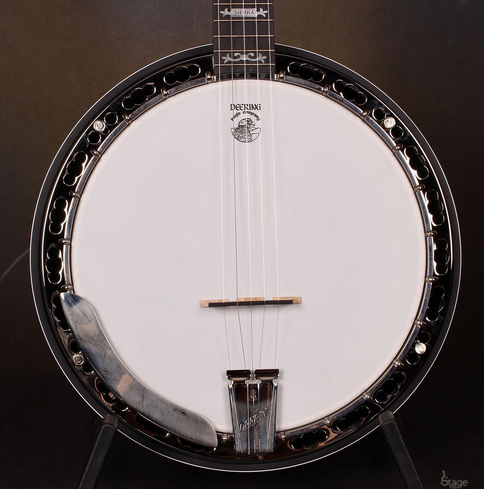 Deering Sierra 5 strings banjo