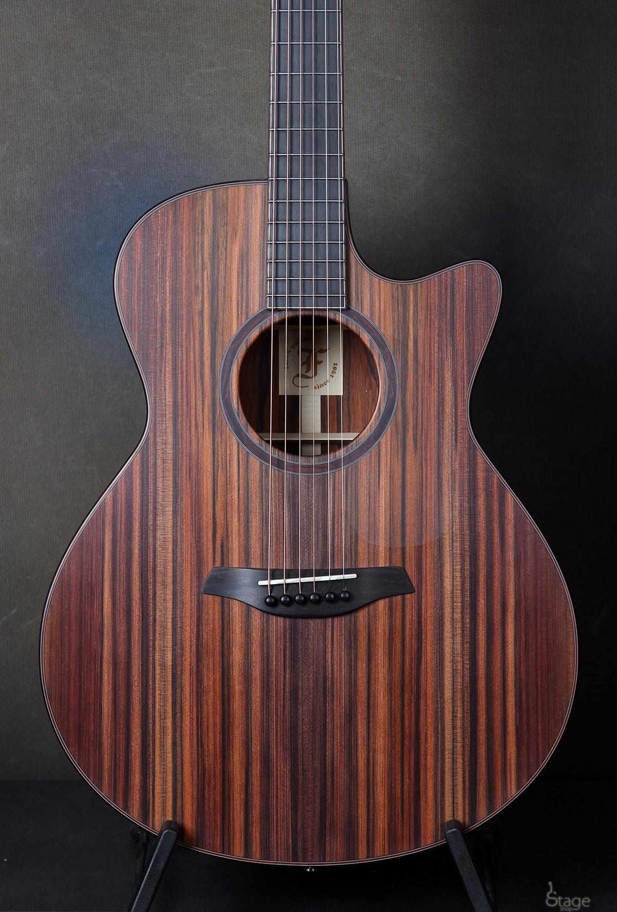 Furch G24-DC Cut Sinker Redwood Cocobolo custom acoustic guitar