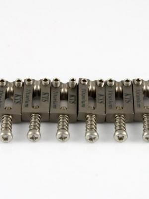 Titanium Offset Bridge Saddles for Stratocaster 6pieces/set (A6)